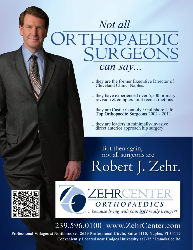 Naples' best orthopedic surgeon advertises in Southwest Florida media